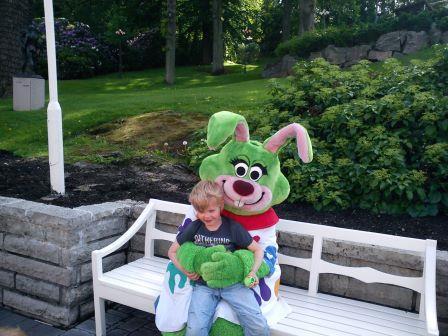 Min son Alvin och Lisebergskaninen