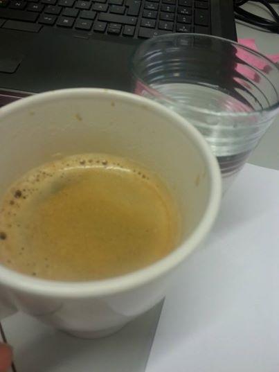 kaffevatten